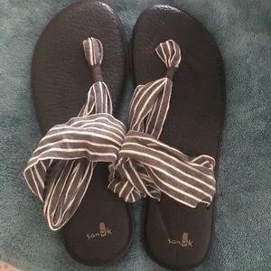 Women's Size 11 Sanuk Yoga Sling Sandals